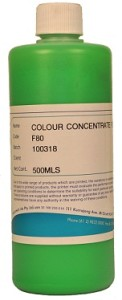 Colour Concentrates Fluorescent
