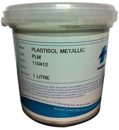 Plastisol Ink Supplies Metallic Silver 1