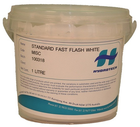 Plastisol Ink Supplies Standard fast flash white ink 1